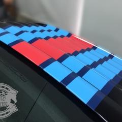 ポルシェ マルティーニ レーシングストライプ