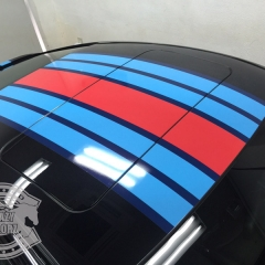 Porsche carerra carwrapping