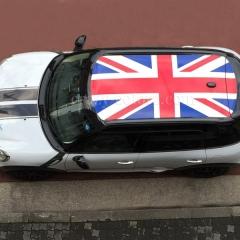 R60 BMW-クロスオーバー ルーフラッピング