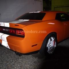 Dodge-Challenger-racing-stripes