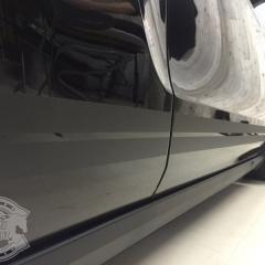 フォード マスタング シェルビーGT500 レーシングストライプ カーラッピング 東京