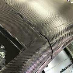 AMG カーボン カーラッピング 東京 台東区 浅草