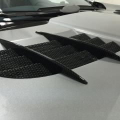 クレイジーカーボン ウエット ツヤあり カーボン カーラッピング SLR マクラーレン 東京 台東区 浅草