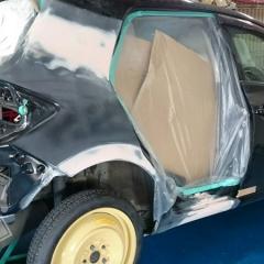トヨタ ボディー リペア 修復 修理 塗装 ペイント 東京