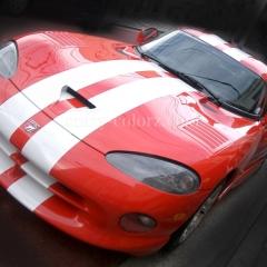 dodge viper racing stripe