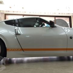 サイドストライプ 370Z カーラッピング ライン 東京