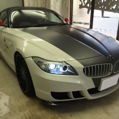 BMW Z4 カーラッピング 東京 バイカラー