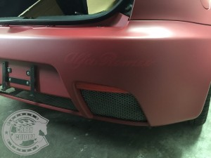 アルファロメオ 147 GT カーラッピング 東京