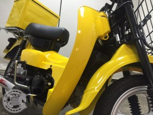 スズキ バーディ ラッピング バイク 東京