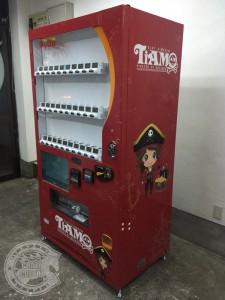 台東区 看板 ラッピング 自販機 東京 広告