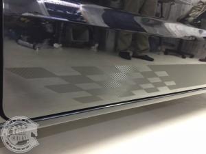 スズキ エブリィ カーラッピング サイドストライプ 東京 台東区