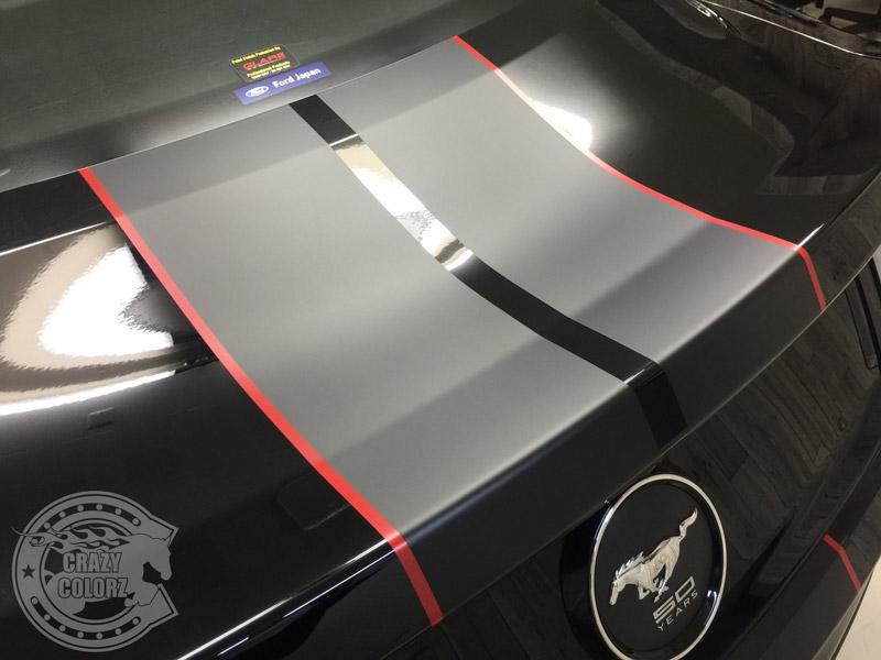 レーシングストライプ デカール ステッカー コーティング 親水 UVカット 東京 台東区