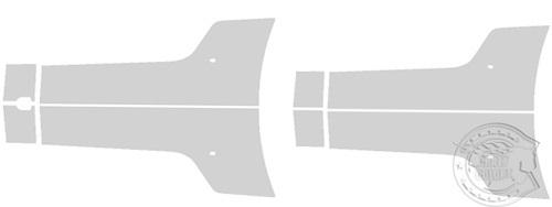 カーラッピング ストライプ デカール ステッカー 東京 台東区