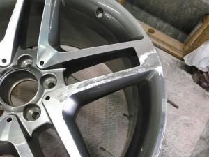 スターリングシルバー プレミアムシルバー 塗装 ガリ傷 修正
