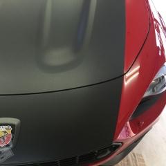 カーラッピング マットブラック アバルト オプション 東京