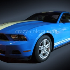 MUSTANG-DUAL2-STRIPES-BLUE