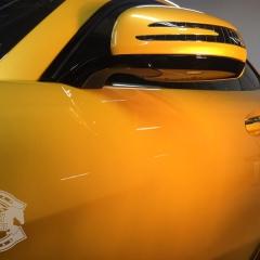 グレア コーティング 東京 親水性 AMG GT ベンツ
