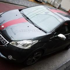Peugeot 208GTI-マットレッドメタリック
