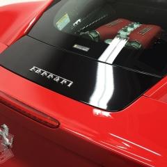 エンジンフード フェラーリ カーラッピング 東京 台東区 458