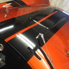 レーシングライン 東京 ストライプ ステッカー カーラッピング 東京 台東区 コブラ