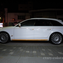 audi a4 parts wrapping