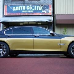 BMW 7series ハーフラッピング