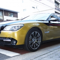 BMW 7series ラッピングカー