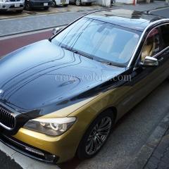 BMW 7series bicolor wrap