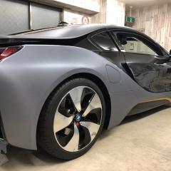 BMW ドライカーボン i8 サイド シール デカール ロゴ カーラッピング 東京 浅草