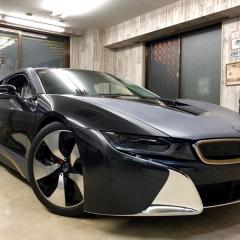 i8 BMW スーパーカー カーボン カーラッピング フルラッピング 東京 台東区 浅草