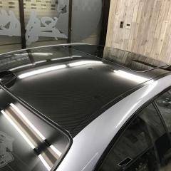 カーボンルーフ BMW M3 E46 カーラッピング ウエット グロス 東京 台東区