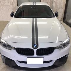BMW M4 カスタム ドレスアップ 東京 カーラッピング 足立区 コーテイング