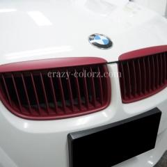 BMW-M3-マット-グリル-ラッピング