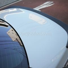 BMW M5 スポイラーカーボンラッピング