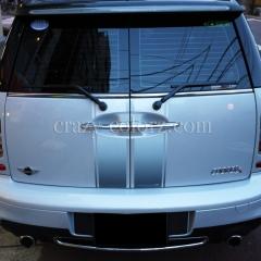 BMW MINI humpton wrapping
