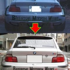 BMW-Z3サイドデカール