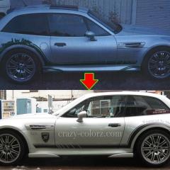 BMW-Z3ワンオフストライプ