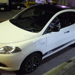 CHRYSLER YPSILON CARBON WRAP