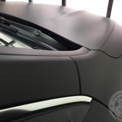 カーラッピング 艶消し 黒 マットブラック 東京 台東区 ベンツ AMG