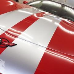 コルベット コーティング グレア GLARE レーシングストライプ カーラッピング 東京