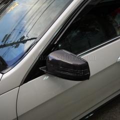 E63ミラーカーボンラッピング
