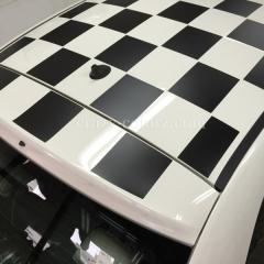 FIAT500-ルーフデカールステッカー