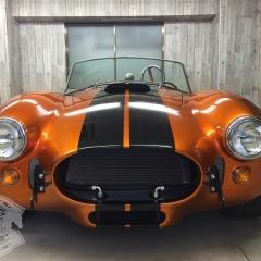 コブラ レーシングストライプ 東京 カーラッピング アメ車 コーティング