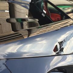 グレア コーティング フェラーリ 488 スパイダー 親水 ガラス 化学結合 東京 浅草