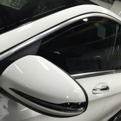 化学結合 ガラスコーティング 親水 UVカット メルセデスベンツ W205 グレア 東京