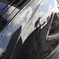 ガラス 化学結合 コーティング グランドチェロキー 東京 台東区 浅草 磨き