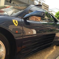 フェラーリ 348tb グレアコーティング glare