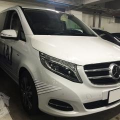 メルセデスベンツ W447 Vクラス 広告 社用車 看板 カーラッピング 東京