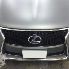 Lexus LS600h carwrapping matte metallic