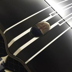 ストライプ レーシング ライン ステッカー カーラッピング マセラティ グランスポーツ 東京 台東区 浅草